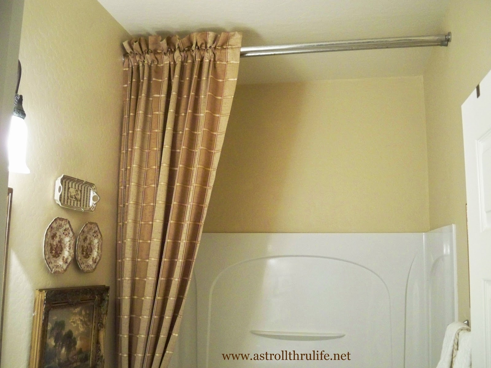 10 Ft Ceiling Shower Curtain