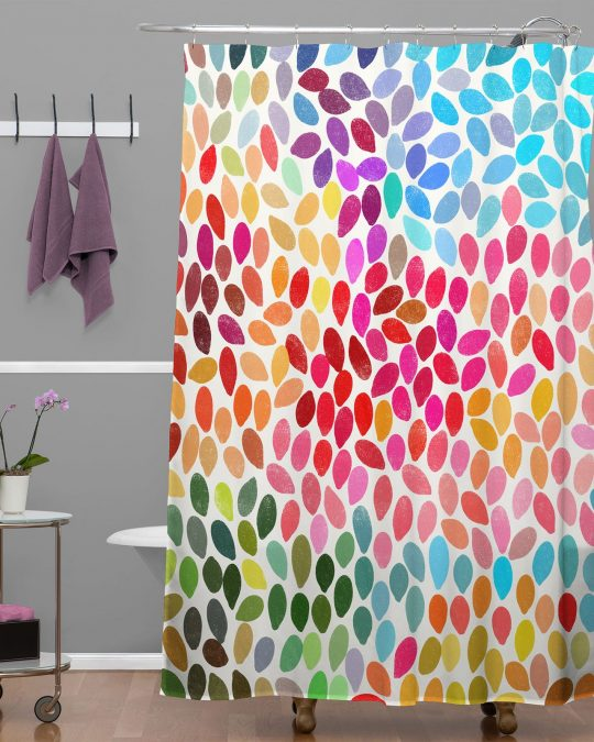 Permalink to Bright Colorful Shower Curtains