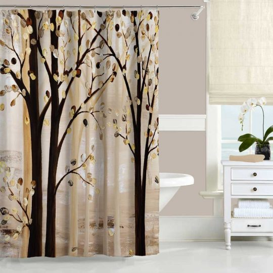 Permalink to Famous Artist Shower Curtains