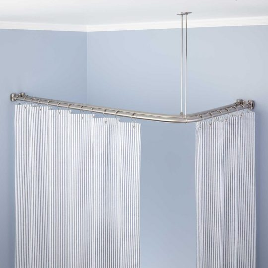 Permalink to L Shaped Shower Curtain Pole