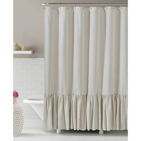 Permalink to Linen Shower Curtain Extra Long