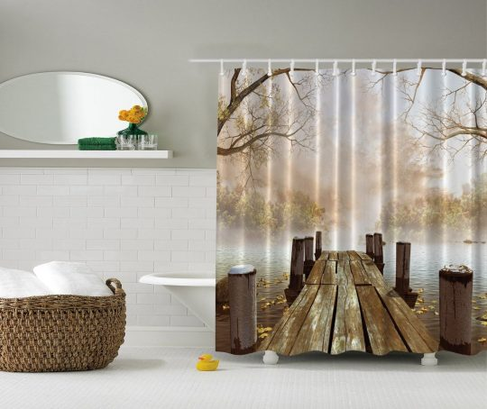 Permalink to Mocha Colored Shower Curtains