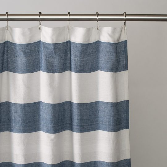 Permalink to Red Gingham Shower Curtain