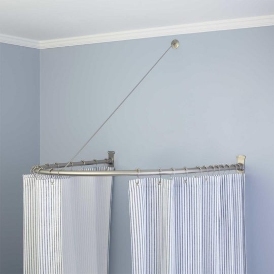 Permalink to Wire Shower Curtain Rod